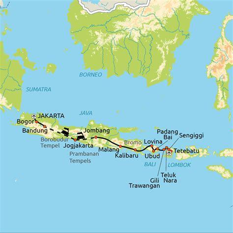 java bali gili lombok  dagen groepsreis nrv