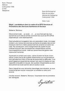 Exemple Lettre De Motivation Bts : modele lettre de motivation stage bts sp3s document online ~ Medecine-chirurgie-esthetiques.com Avis de Voitures