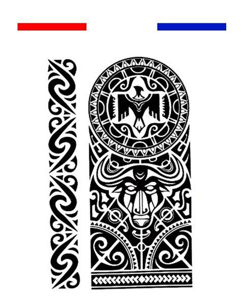 tatouage maori bracelet avant bras biceps noir mon
