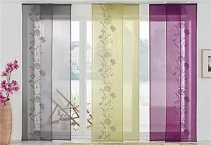 Schiebevorhang Mit Schlaufen : 4 st schiebegardine schiebevorhang 57 x 145 lila fl chenvorhang schlaufen neu ebay ~ Orissabook.com Haus und Dekorationen