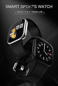 Smart Watch Step Counter Sport Heart Rate Monitor Blood