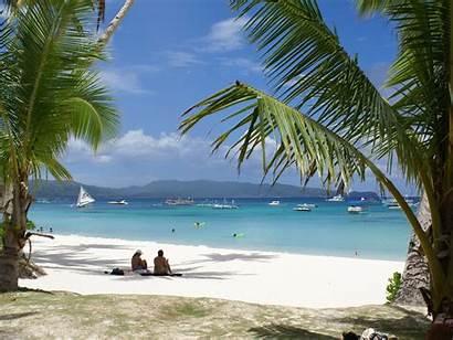 Beach Vacation Scene Break Coffee Dream Mental
