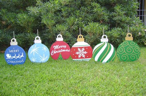 christmas yard ornaments holiday yard art made by art de