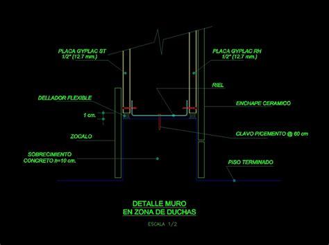 drywall details dwg detail  autocad designs cad