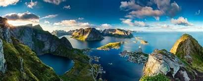 Norway Reinebringen Stunning Landscape Landscapes Rate