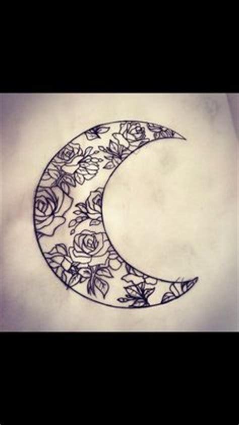 ideas  crescent moon tattoos  pinterest small moon tattoos moon tattoo designs