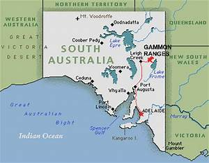 The Gammon Ranges National Park, South Australia