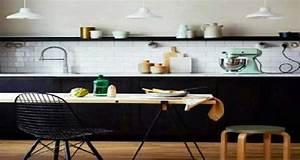 La cuisine scandinave affiche son style en deco de cuisine for Idee deco cuisine avec deco vintage scandinave