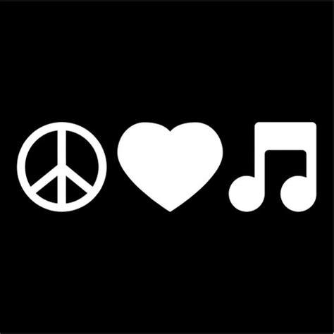peace love  musicjpeg