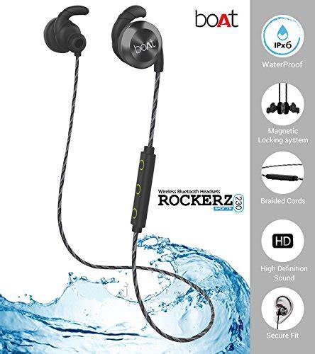 Boat Earphones by Buy Boat Rockerz 230 In Ear Bluetooth Headphones With Mic