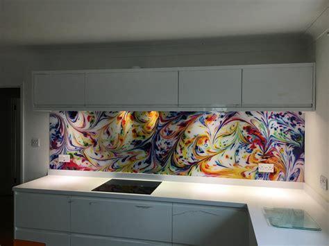 Funky Kitchen Glasses by Personalised Kitchen Splashbacks Digitally Printed Kent