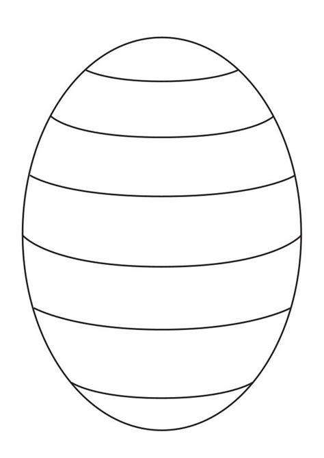 Easter Egg Template Easter Egg Patterns Templates Happy Easter 2018