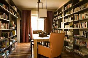 20  Library Home Office Designs  Decorating Ideas