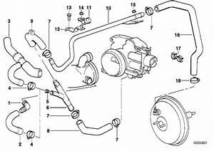 Bmw 740il Hose  Vacuum  Engine  Control