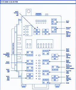 Chrysler 300c 2008 Di-charge Lamp Fuse Box  Block Circuit Breaker Diagram