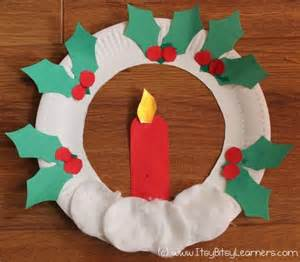 Paper Plate Wreath Crafts for Kids