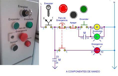 coparoman diagramas de circuitos el 233 ctricos de con bot 243 n de paro de emergencia