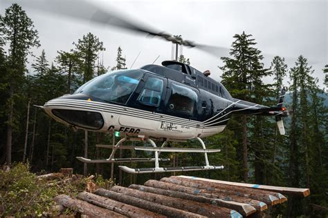 Bell 206 Jet Ranger Iii  E&b Helicopters, Campbell River