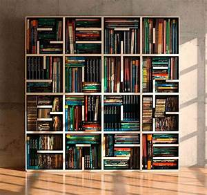 cool letter shaped shelves hative With letter shaped bookcase