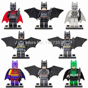 Batman Custom Minifigures, including: Arkham Knight, Space ...
