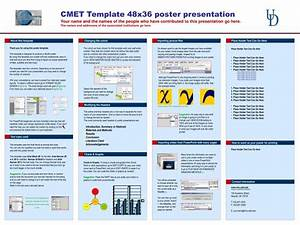 Ppt cmet template 48x36 poster presentation powerpoint for Powerpoint poster template 48x36