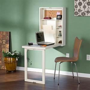 Meuble Avec Table Rabattable : le bureau escamotable d cisions pour les petits espaces ~ Teatrodelosmanantiales.com Idées de Décoration