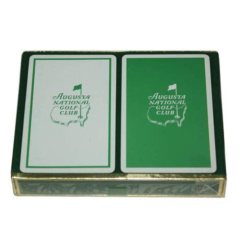 Lot Detail  Augusta National Golf Club Logoed Two Decks