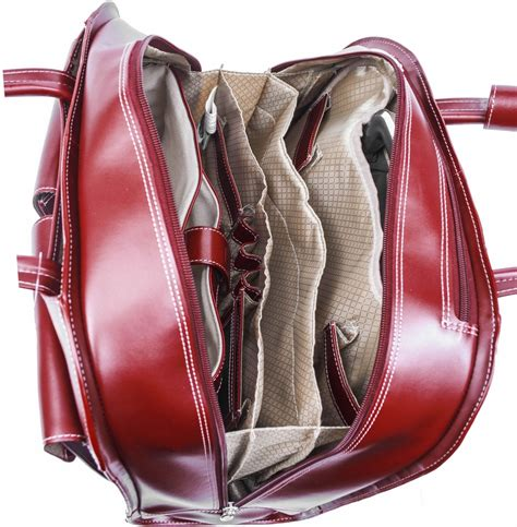 Cowhide Leather by Mcklein Davis 96185a Top Grain Cowhide Leather Laptop