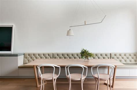 Use Built-in Banquette Seating