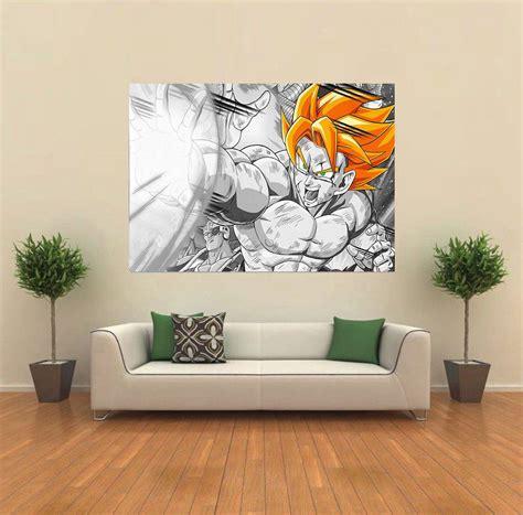 z wall decorations z gogeta anime wall poster print