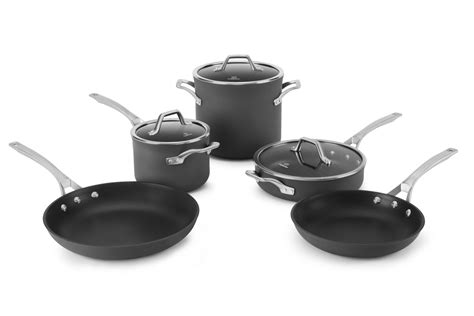 cookware calphalon pan pans pots signature sets nonstick omelette inch individual pc utensils category support