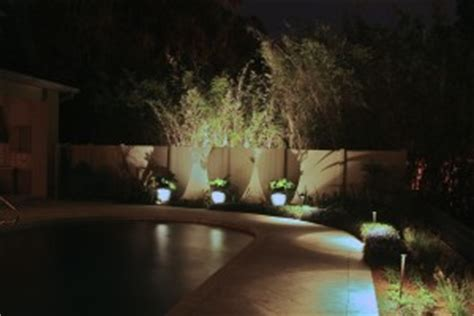 low voltage pool light pool area lighting design installation in orlando fl