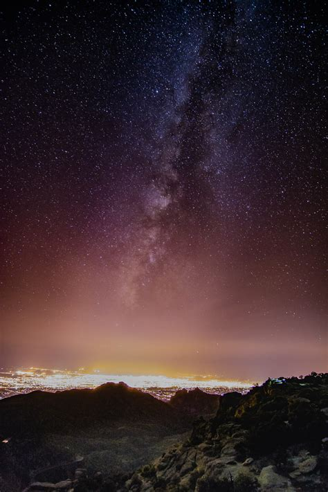 Free Images Landscape Nature Sky Night Star Milky
