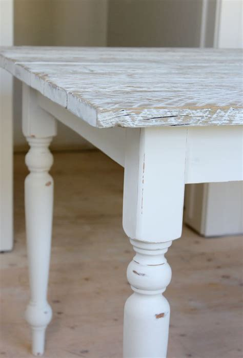 how to white wash a table whitewashed reclaimed wood dining table satori design for living