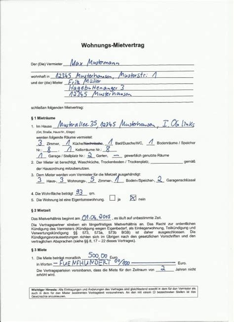 Mietvertrag Arten Mietvertraegen by Wir Sorgen F 252 R Ihre Entlastung Oservo Ihr Virtueller