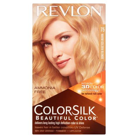 revlon colorsilk hair color revlon colorsilk beautiful color 75 warm golden