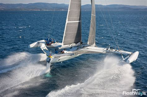 Fast Catamaran Boats by World S Fastest Sailboats The Catamaran Trimaran