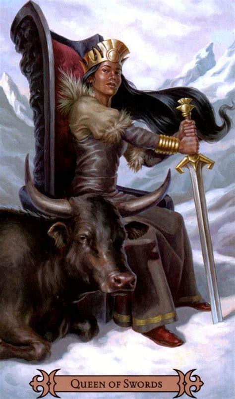 images  queen  swords  pinterest decks