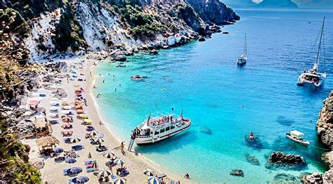 Agiofili Beach  Vasiliki, Lefkada, Greece