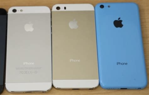 iphone 5c gold gold iphone 5s and blue iphone 5c reportedly on