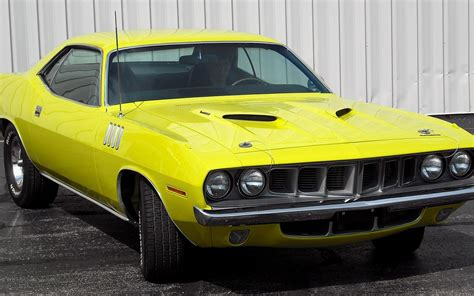 Muscle Cars Usa Plymouth Barracuda Classic Widescreen Cuda