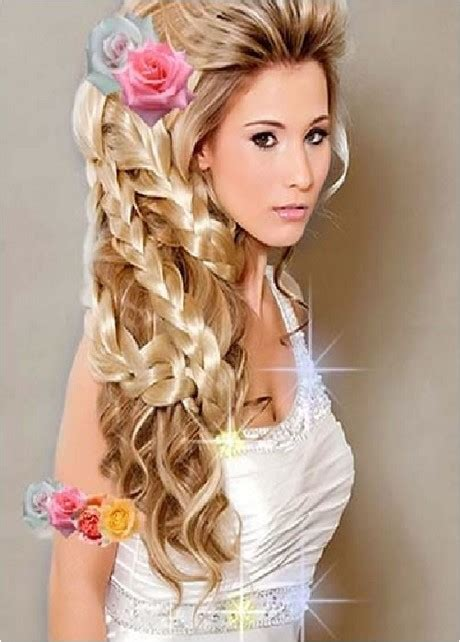 quick and easy hairstyles for long hair straight hair