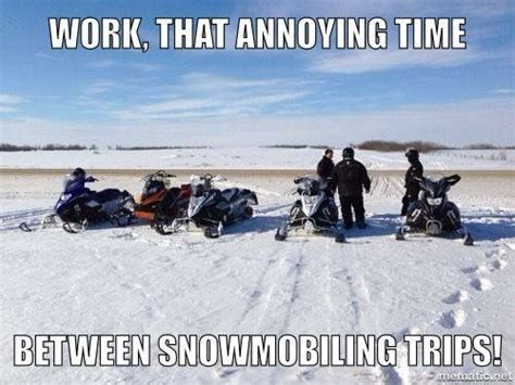 145 Best Ideas About Funny Snowmobile On Pinterest