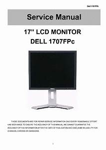 Dell 1707fpc Lcd Monitor Service Manual Download