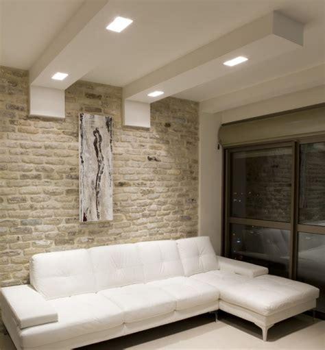 spot encastrable pour meuble de cuisine faux plafond moderne dans la chambre à coucher et le salon