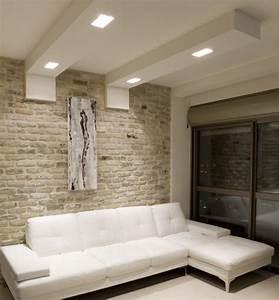 faux plafond moderne dans la chambre a coucher et le salon With tapis de yoga avec canapé open en ville