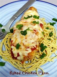 easy-baked-chicken-parmesan - The Big Apple Mama