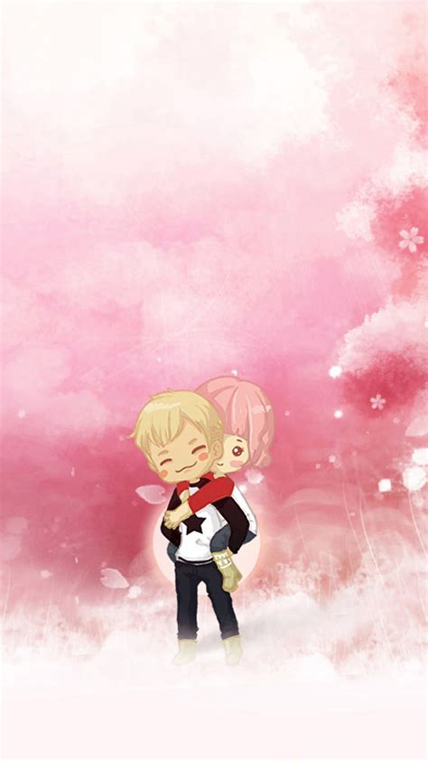 Cute Couple Wallpaper ·①