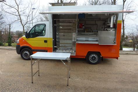 camion cuisine camion rotisserie poulet table de cuisine