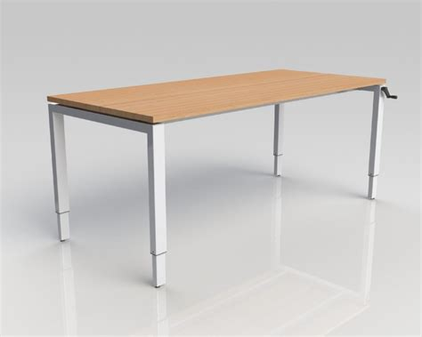 adjustable desk legs 4 legged table frames height adjustable desk frames